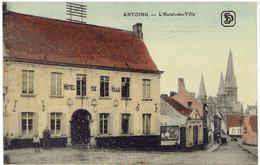 ANTOING - L' Hôtel De Ville - S.D.Série Colorisé - Antoing