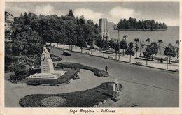 PALLANZA LAGO MAGGIORE - FORMATO PICCOLO - VIAGGIATA 1941 - (rif. A92) - Verbania