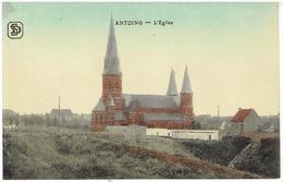 ANTOING - L' Eglise - S.D.Série Colorisé - Antoing