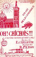 MARSEILLE CHANSON QUI SENT L'AIL AIOLI PASTIS - CRI DE LA CANEBIERE OH CHICHOIS !! -DE VALETTE / ALTON  - 1933 - TB ETAT - Music & Instruments