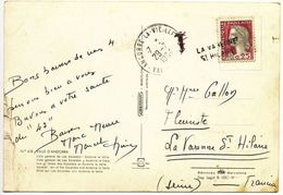 ANDORRE CP 1958 SOLDEU AGENCE POSTALE - Andorre Français
