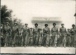 CPSM - Libération De Paris - Défilé De L'Infanterie Américaine Avenue Des Champs Elysées, Très Animé - Weltkrieg 1939-45