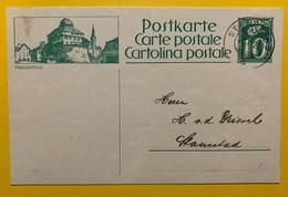 9687 - Entier Postal Illustration Frauenfeld Stansstad 31.10.1924 - Enteros Postales