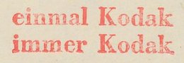 Meter Cut Germany 1959 Kodak - Fotografia
