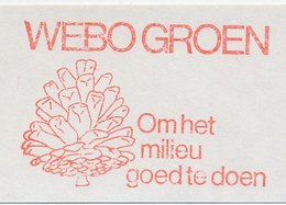 Meter Cut Netherlands 1980 Pine Cone - Bäume