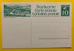 9695 - Entier Postal Illustration Baden Thermalkurort Neuf - Entiers Postaux