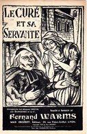 VIEILLE CHANSON BRETONNE - LE CURE ET SA SERVANTE - E. COCARD DESSIN - 1936 - EXC ETAT - - Music & Instruments
