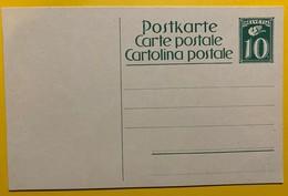 9697- Entier Postal  106 10 Ct Vert Neuf - Entiers Postaux