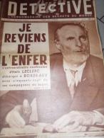 BAGNE CAYENNE/CADEROUSSE/ LILLE CARNAGE/PARIS HALLES/MAROC BEN YOUSSEF/SPELEO OLORON /ALBI MASSACRE - Livres, BD, Revues