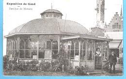 Gent (Gand)-Wereld Tentoonstelling-Exposition Universelle-1913-Pavillon De Monaco-animée-costume Local - Gent