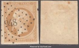 PC 948 (Coquille (la), Dordogne (23)), Cote 38.75€ - Marcophily (detached Stamps)