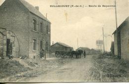 N°731 T -cpa Bullecourt -route De Bapaume- RR- - Frankreich