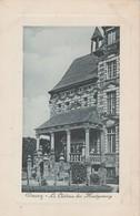 CPA   50  H 272    DUCEY  CHATEAU DES MONTGOMERY  ECRITE EN 1917 - Ducey