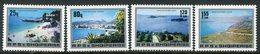 ALBANIA 1982 Coastal Views MNH / **.  Michel 2148-51 - Albania