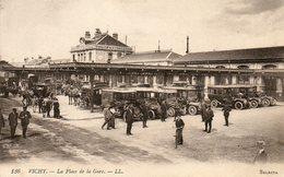 Vichy  Place De  La Gare - Estaciones Sin Trenes