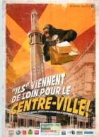 Carte Publicité Pour  GRENOBLE .  FAITES VOS COURSES EN CENTRE VILLE - Werbepostkarten