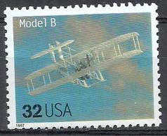 1) 1997 Etats Unis USA United States MNH - Transport Planes Aircraft Avions Wright Brothers Model B - Airplanes