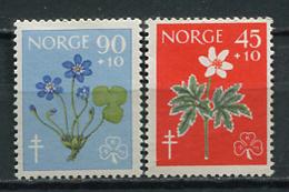 Noruega 1960 Norway  / Flowers MNH Flores Blumen Fleurs / Cu5629  1-64 - Vegetales