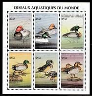 1999 Comoro Islands Water Birds Of The World Minisheet (** / MNH / UMM) - Ducks