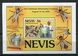 Nevis 2000 / Insects Bees MNH Insectos Abejas Bienen / Cu5615  1-64 - Abejas