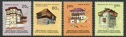 ALBANIA 1982 Tradiitional Houses  MNH / **.  Michel 2111-14 - Albania