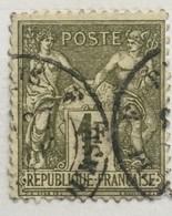 Timbre France YT 72 1876-78 SAGE (type I) 1 F Bronze (côte 12 Euros) – 15 - 1876-1878 Sage (Type I)