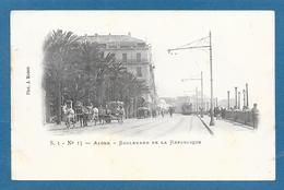 ALGER BOULEVARD DE LA REPUBLIQUE 1905 - Algeri