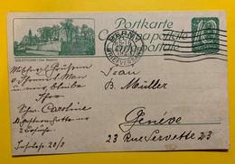 9704 - Entier Postal Illustration Solothurn Die Bastion Bern 20.08.1923 - Entiers Postaux