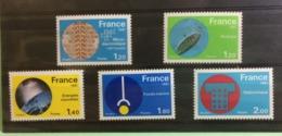 France (Grandes Réalisations) 1981 Neuf (Y&T N°2126-2130 (5val)) - Coté 4,20€ - France