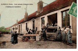 Mamirolle: L'emballage Des Camenberts - Autres Communes