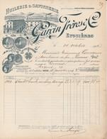Eyguières (Bouches-du-Rhône) - Garcin Fres & Cie - Huilerie Et Savonnerie - 1900 – 1949