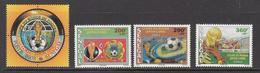 2002 Senegal World Cup Football Japan Complete Set Of 4 MNH - Senegal (1960-...)