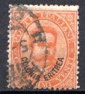 ERYTHREE (Colonie Italienne) - 1893 - N° 5 - 20 C. Orange - (Timbre D'Italie De 1863-91) - Eritrea