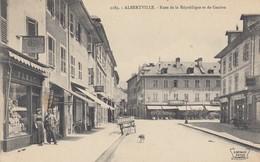 ALBERTVILLE: Rues De La Républiques Et De Genève (magasins) - Albertville