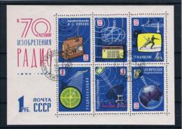 Sowjetunion/UdSSR 1965 Block 39 Gestempelt - Usados