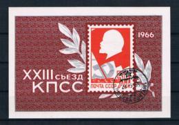Sowjetunion/UdSSR 1966 Block 42 Gestempelt - Usados