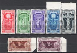 Italia Regno 1933 Sass.345/49+A54/55 **/MNH VF/F - 1900-44 Victor Emmanuel III.