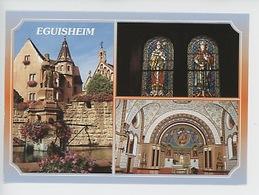 Eguisheim : Chapelle Saint Léon (multivues) - France