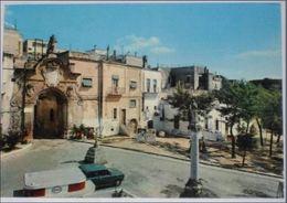 BRINDISI - Oria - Piazza Shabbatay Ben Abraham - Donnolo - Distributore Esso - 1974 - Brindisi