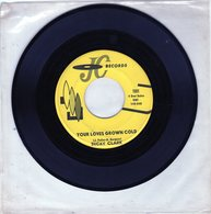 Becky Clark - Your Loves Grown Cold - Party Doll - J C Records 1001 - 1962 - Rock