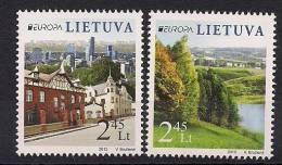 2012 Litauen Lietuva Mi. 1103-4 **MNH - Europa-CEPT