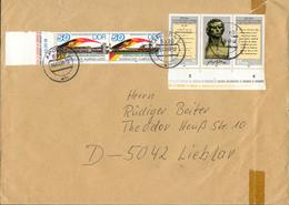 DDR Brief Mi. 3052 I Abart Abstrich Des R Kurz Fx73-2 - [6] Democratic Republic