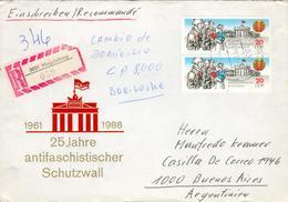 DDR Brief Michel 3037 I Abart Gebrochene Schulter Gh21 - Errors And Oddities