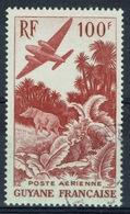 French Guiana, 100f., Tapir In The Rainforest, 1947, VFU Airmail, Very Nice Stamp - Usati