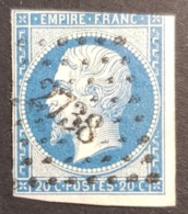 1853 - 1861, Emperor Napoléon Lll, 20c, France, Empire Française - 1853-1860 Napoléon III