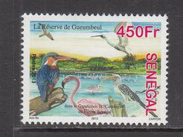 2013 Senegal Birds Flamingo Kingfisher Crane  MNH  ** MUCH Cheaper Than Buying Difficult Set *** - Flamencos