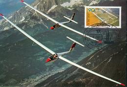 Germany Michel Nr. 1095 MC MK Glider Segelflugzeug Gf56 - [7] Federal Republic