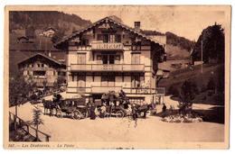6362 - Suisse - Les Diablerets ( Vaud ) - La Poste - G.Lecaux éd. à Leysin - N°167 - - VD Vaud