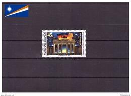 Îles Marshall 1990 - MNH** - Monuments - Michel Nr. 320 Série Complète (mhl203) - Marshall