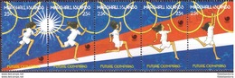 Îles Marshall 1988 - MNH** - Jeux Olympiques - Michel Nr. 167-171 (mhl263) - Marshall